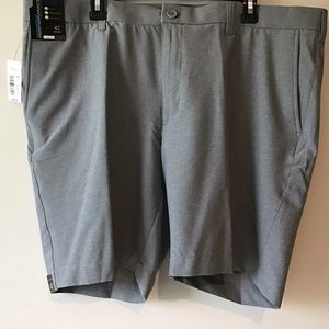 Shorts 42 Graphite Flat Front  Straight NWT
